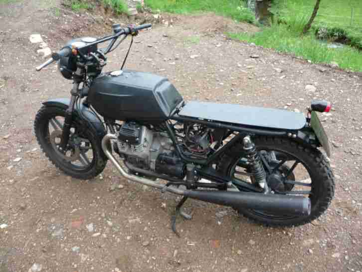 Bastler Motorrad Moto Guzzi V 35 II