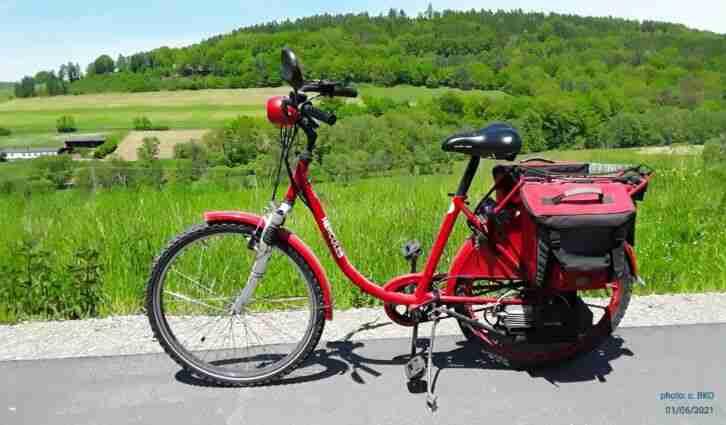 Saxonette Hercules Fahrrad mit Hilfsmotor Typ S19 1995 sofort fahrbereit