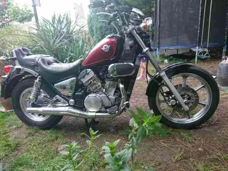 Motorrad Kawasaki Chopper VN 750 A D Bj 94 supergepflegt