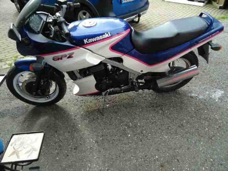 Kawasaki GPZ 500 ccm Motorrad ohne TÜV gut erhalten
