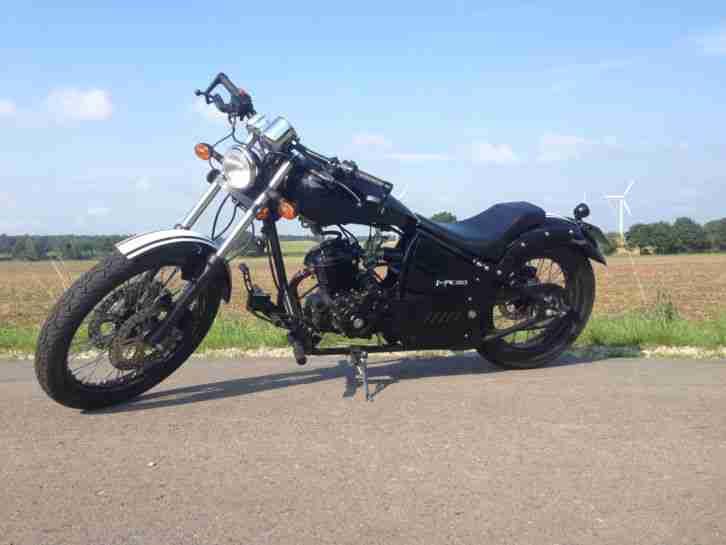 125ccm custombike chopper aus amerika ez 06 15 bestes. Black Bedroom Furniture Sets. Home Design Ideas