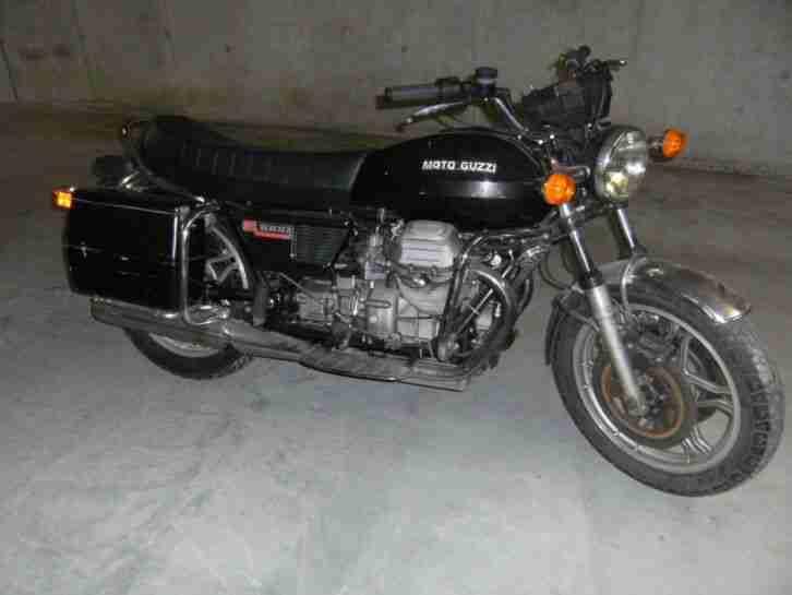 MOTO GUZZI V1000 I CONVERT ex Swiss POLICE OLDTIMER AUTOMATIC