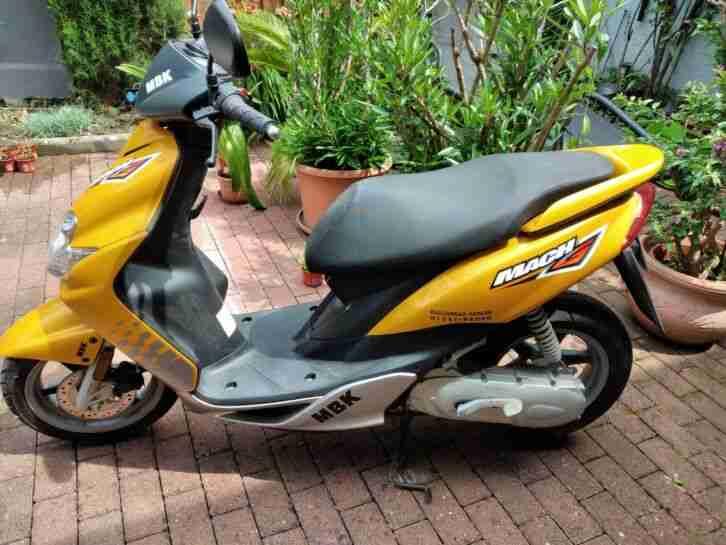 MBK CS50 Motorroller mit Startprobleme 1403 km