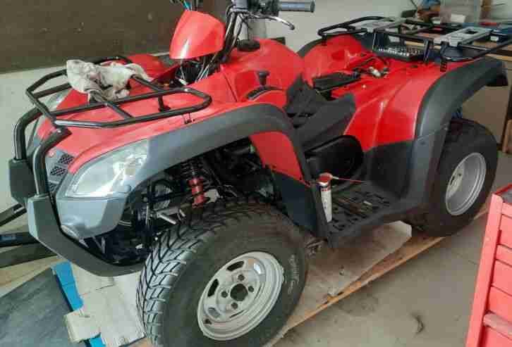 ATV Quad, MXU 500 Kymco , rot, EZ 2008 aus Erstbesitz, Stilllegung 2018