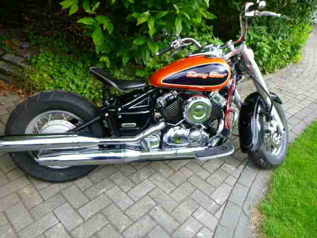 Yamaha XVS 650 Bobber , Classic , Bj 2004 , 25600 km , 29 kw