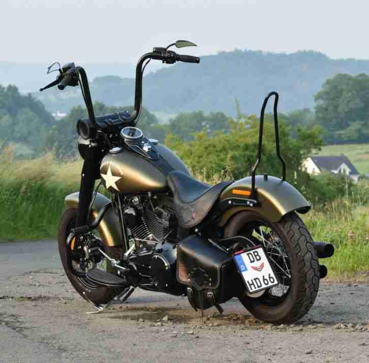 Harley Davidson® Slim S FLSS Softail Klappenauspuff 1.6tkm 1. Hd.