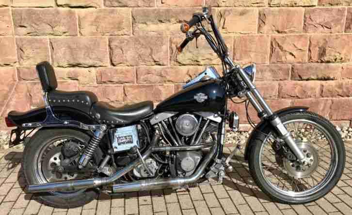 1983 Harley Davidson FXWG Wide Glide Shovelhead