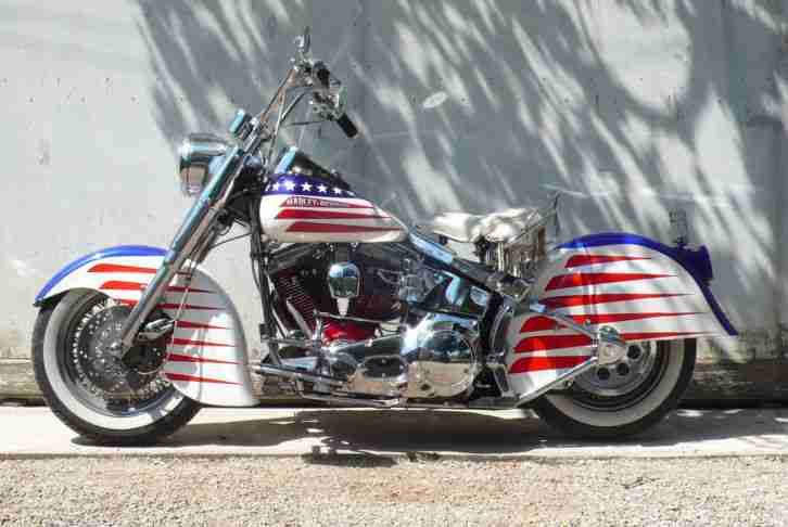 "1992 Harley Softail ""General America"" !"