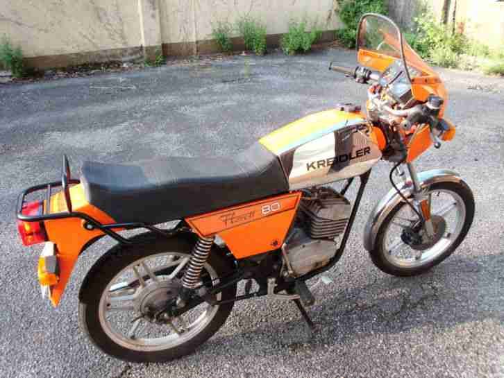 2 KREIDLER LK 600L BLAU BJ. 82. ORANGE BJ. 81