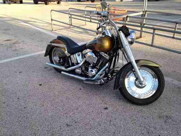 2002 harley davidson fat boy transport zoll topseller. Black Bedroom Furniture Sets. Home Design Ideas