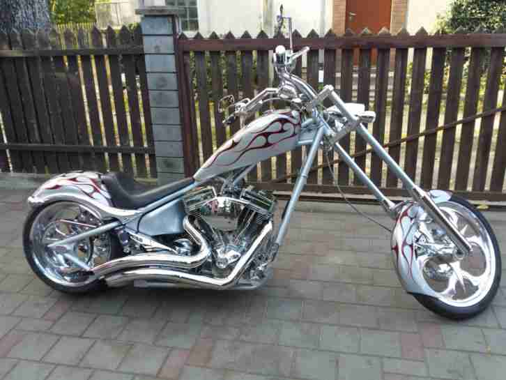 2006 BIG DOG K9 300er Softail 117 cui S&S 6