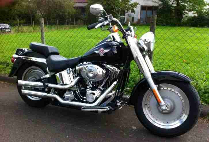 2006 Harley - Davidson Softail Fat Boy FLSTFI