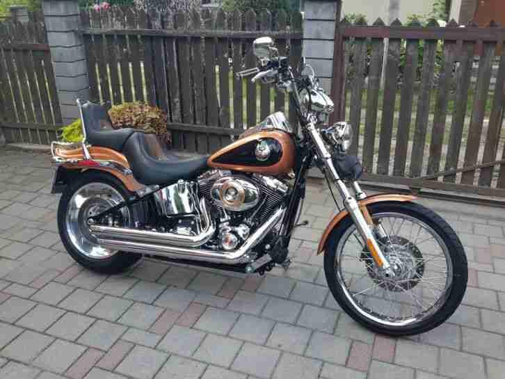 2008 Harley Davidson FXSTC Softail Custom 105th Anniversary 5327 miles 2547 2600
