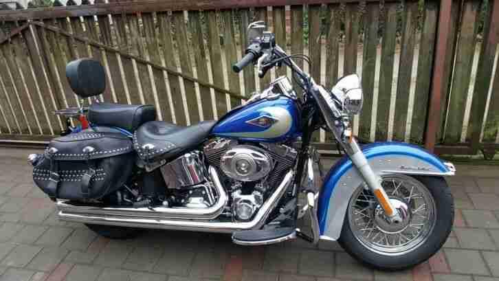 2009 Harley Davidson FLSTC Heritage Softail