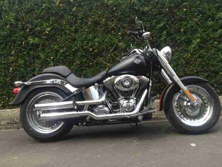 2012 Harley - Davidson FLSTFI Fat Boy Custom