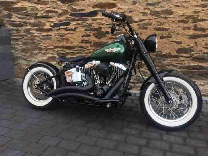 2014 HARLEY DAVIDSON SOFTAIL Rockabilly Bobber, Heritage, Fat Boy Stile. ABS