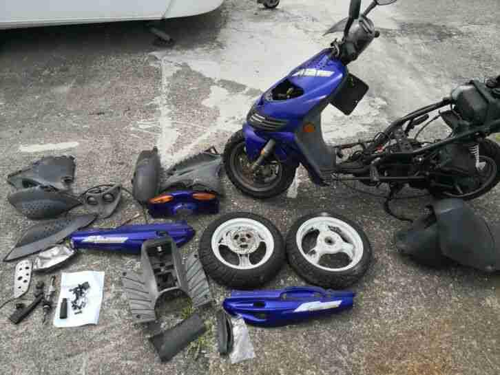 Suzuki Katana Roller Defekt 50kmh ohne Papiere läuft nich mit Unbedenklichkeitsb