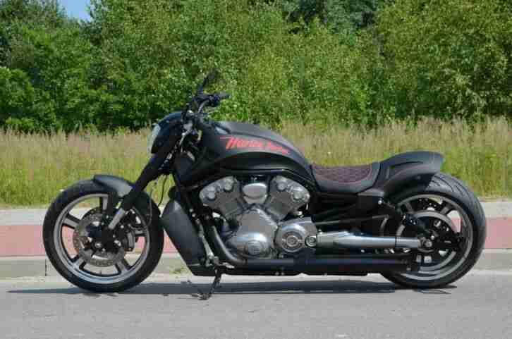 Harley Davidson VRSCF V Rod Muscle Umbau 260er ABS Neue reifen