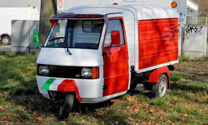 Piaggio APE Bianco W10 Oldtimer Bj 2009