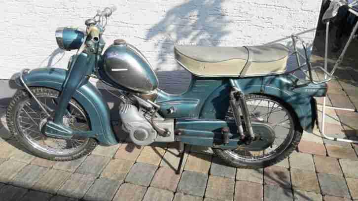 Zündapp Combinette Typ 433,Oldtimer, Moped,Motorrad,Mockik,