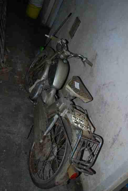 ger21# Aus Nachlass: Moped Zündapp M50