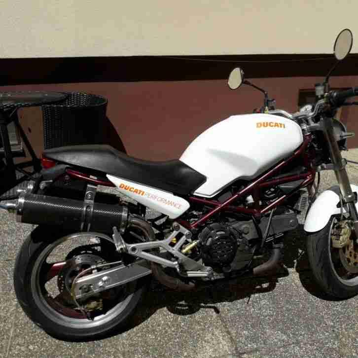 Ducati Monster 900 erst 26 Tkm. alles neu