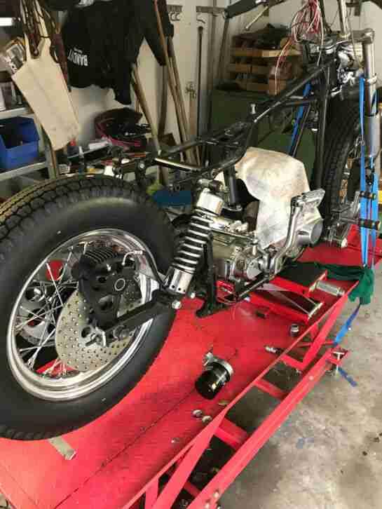Harley Shovelhead Bj.68 Wiederaufbau!!