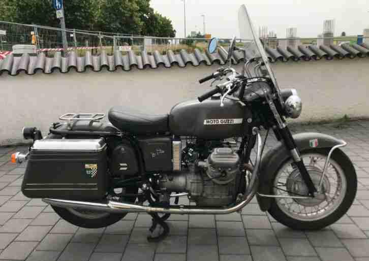 Moto Guzzi V700 Police Original Italo Vintage Klassiker mit Dampf