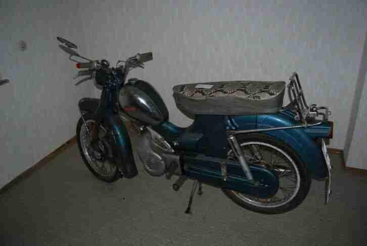 ger11# Aus Nachlass: Moped Zündapp Super Combinette 1965
