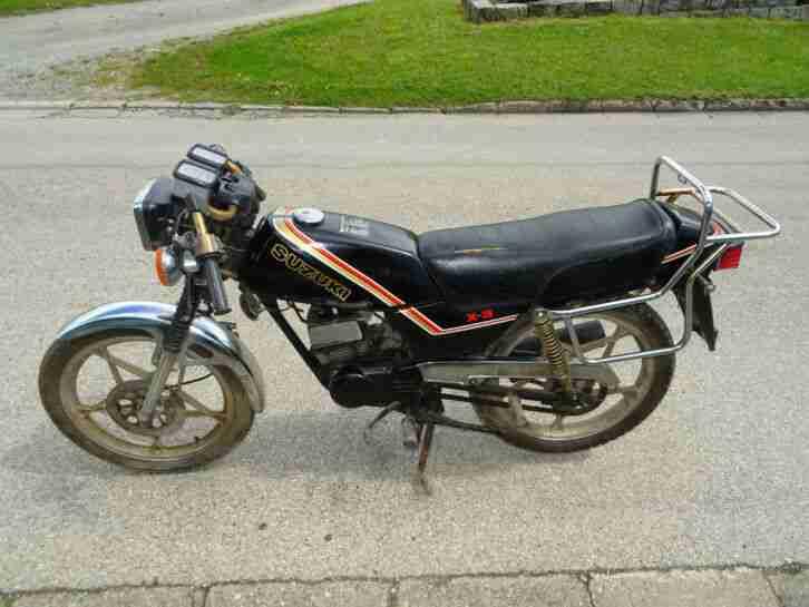 Suzuki GT 80 Leichtkraftrad X 3 Moped (X 3) erst 7610 km
