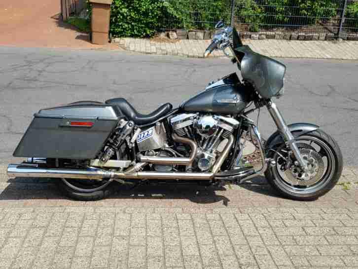 Harley Davidson Custom Bike Streetglide Style Look