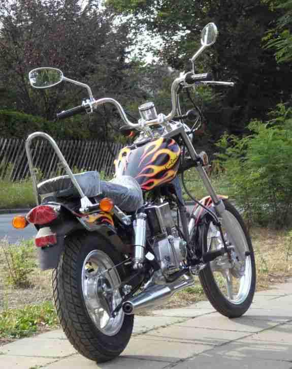 50ccm 4 takt chopper xt50q motorrad 50 ccm bestes angebot von sonstige marken. Black Bedroom Furniture Sets. Home Design Ideas