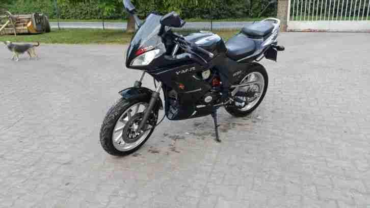 50ccm 4 takt renn motorrad bike yamasaki ymr 50 bestes. Black Bedroom Furniture Sets. Home Design Ideas