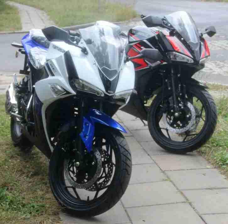 50ccm 4 Takt Rennmotorrad YM50 10 RE Moped Roller Yamasaki 50 ccm ovp