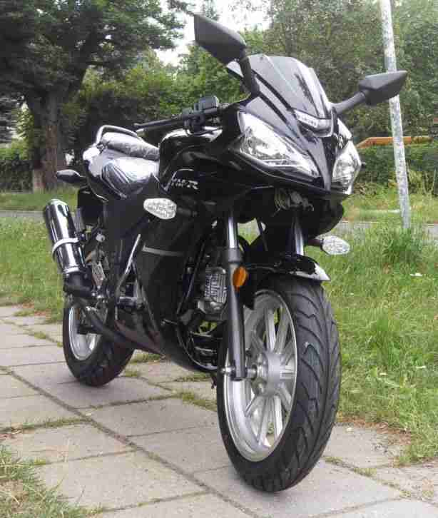 50ccm 4 takt rennmotorrad ym50 9d moped bike bestes. Black Bedroom Furniture Sets. Home Design Ideas