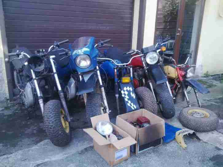 5x TULA TMZ RV Suzuki MotoCross VP150 Caferacer