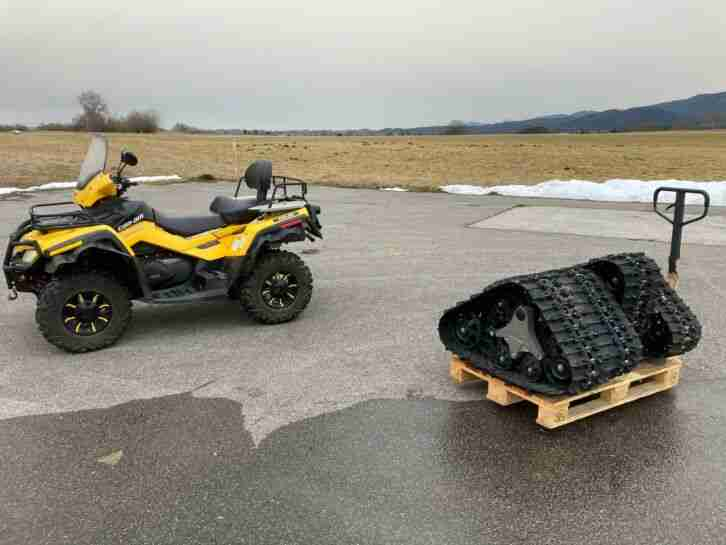 ATV CAN AM BOMBARDIER BRP Outlander 800R MAX ST Bergwacht Bayern