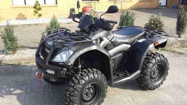 ATV Goes Iron 450 4x4 inkl. Seilwinde, AHK, Handprodektoren