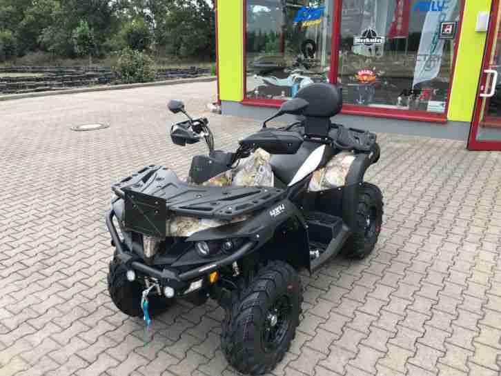 ATV Quad CFMOTO CFORCE 550 DLX EPS LOF Adventure Edition Neufahrzeug