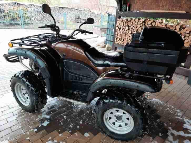ATV Quad Campell 644 ccm, Alpina Di Renania