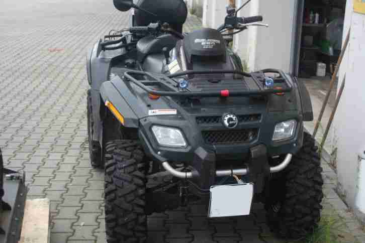ATV Quad Can Am Outlander 650MAX Bombardier