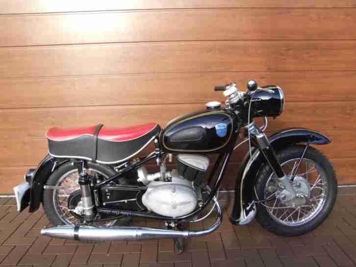 Adler MB 201 Bj. 1954 199ccm