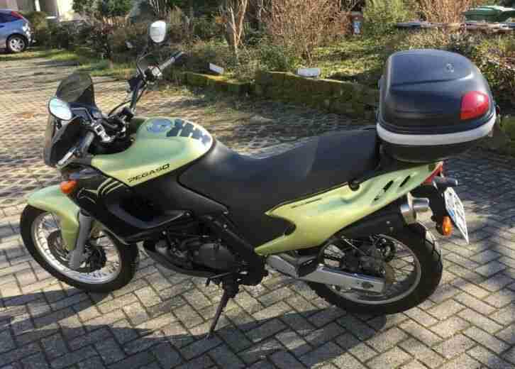 Aprilia Pegaso 650 ccm Supermoto Motorrad TOP