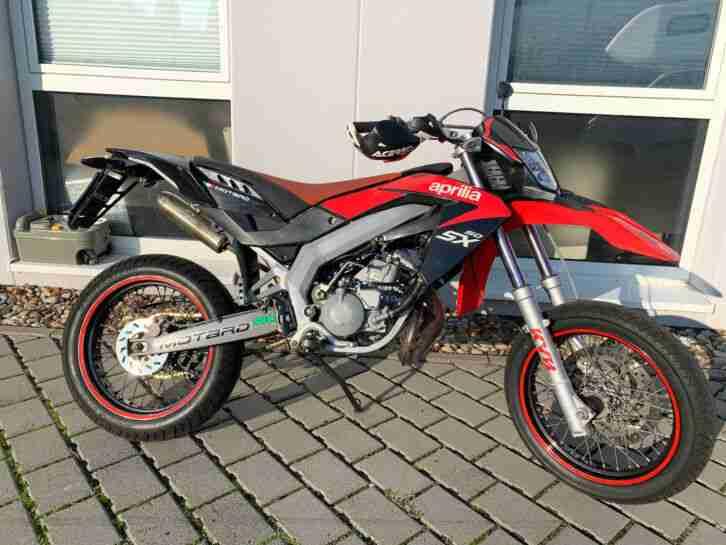 Aprilia SX 50 mit Mofa Drossel
