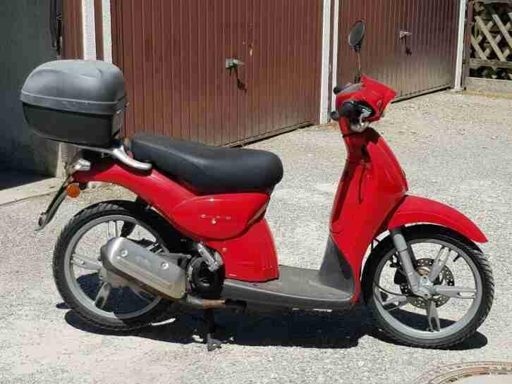 Aprilia Scarabeo Roller 50 ccm nur 4390 km