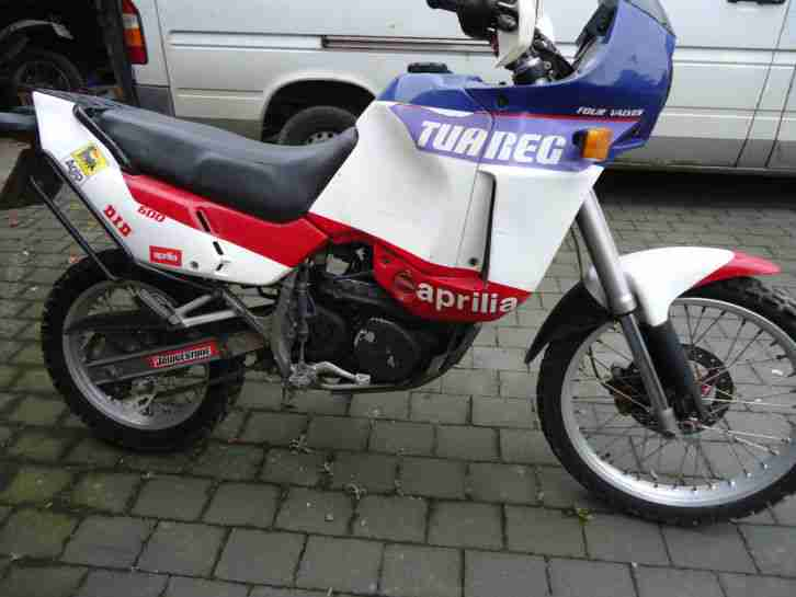 Aprilia Tuareg Wind 600 Bj.89 / White Power / div. Extras /Rotax560