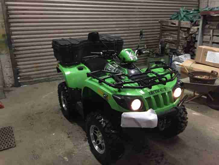 arctic cat 500ccm quad atv allrad seilwinde bestes. Black Bedroom Furniture Sets. Home Design Ideas