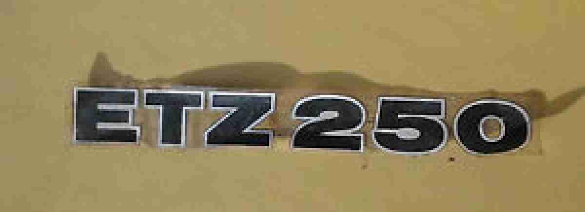 Aufkleber Von Mz Etz 250