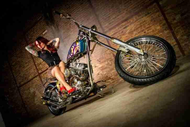 Avatara Harley Davidson Custom