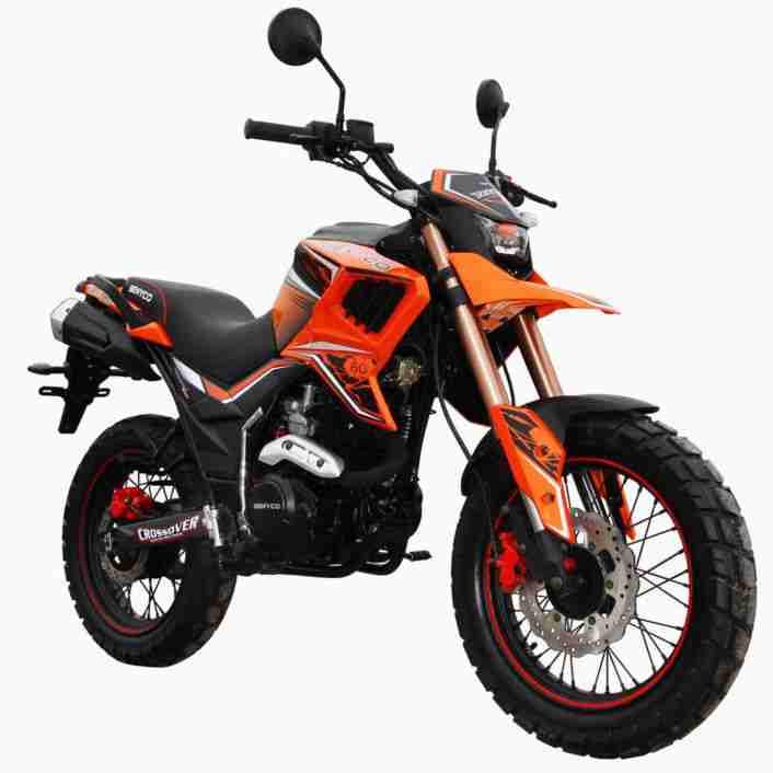 BENYCO TEKKEN 125 ENDURO BIKE 125 ccm MOTORRAD 3 FARBEN EURO 4 NEUFAHRZEUG